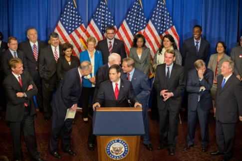 unveiling details of an immigration reform bill in 2013